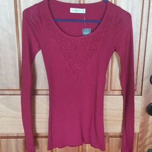 NWT  ladies Abercrombie  & Fitch top